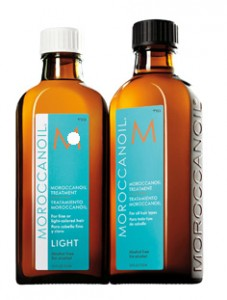 Moroccanoil Original oil Treatment och Light Treatment